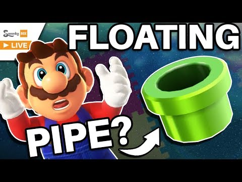 Mario's Glitched FLOATING Pipe! - Super Mario Galaxy (Toy Time Galaxy)