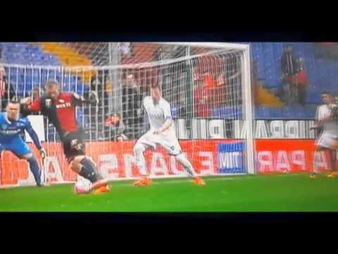 Rigoni Goal Genoa Empoli 1-0 Serie A TIM 2016 HD