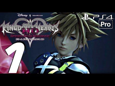 Kingdom Hearts Dream Drop Distance HD - English Walkthrough Part 1 - Prologue (PS4 PRO) KH 2.8