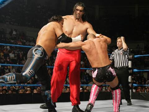 SmackDown: The Great Khali & Matt Hardy vs. The Hart Dynasty