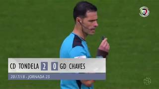 Video Gol Pertandingan Tondela vs Chaves