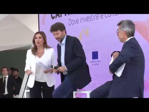 MATERA 2019 - Intervista a Dario Franceschini
