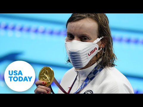 Simone Biles out of all-around, Katie Ledecky gets gold, Thursday Caeleb Dressel swims  USA TODAY