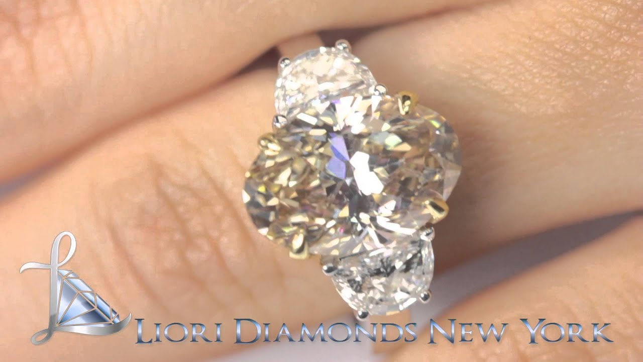 Fd Sold 037 7 35 Ct Natural Fancy Champagne Oval Cut