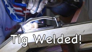 metalwork monday bent rod tig welded cabinet handles