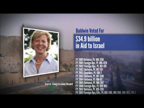 Tammy Baldwin: A Strong Voice For Israel