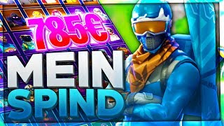 MY XXL FORTNITE SPIND!⛔All my FORTNITE SKINS (VALUE: 85,500 V-Bucks) | TreeBlue