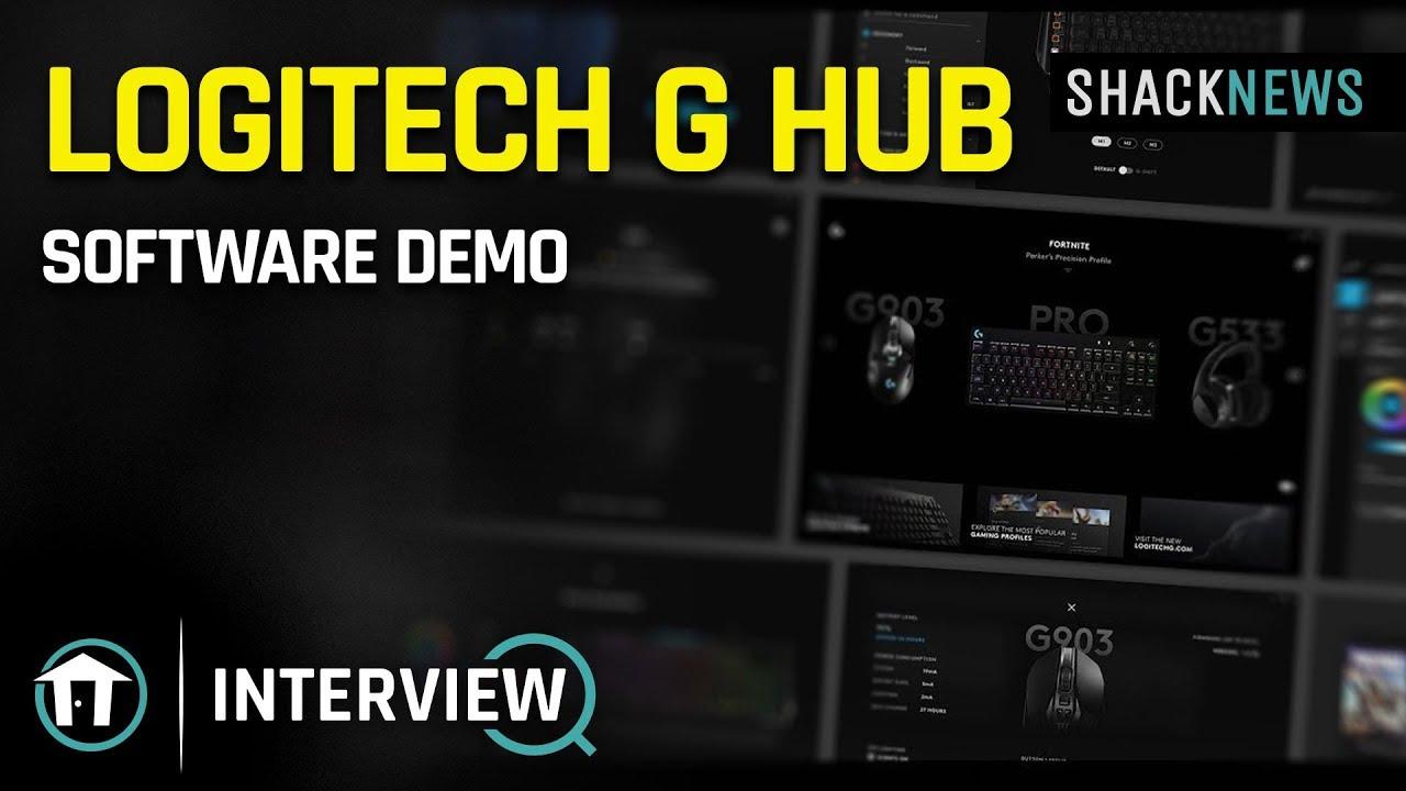 Logitech G HUB Demo - YouTube
