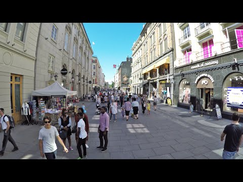 Hyperlapse: Karl Johans gate, Oslo, Norway