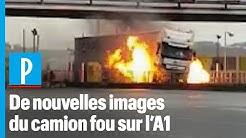 Oise : de nouvelles images du camion fou
