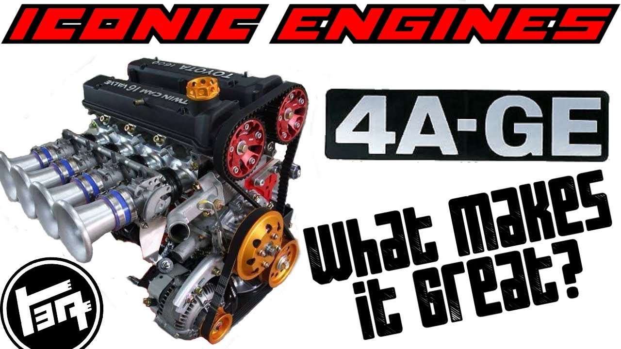 Download Toyota 4AGE - What makes it GREAT? ICONIC ENGINES #1