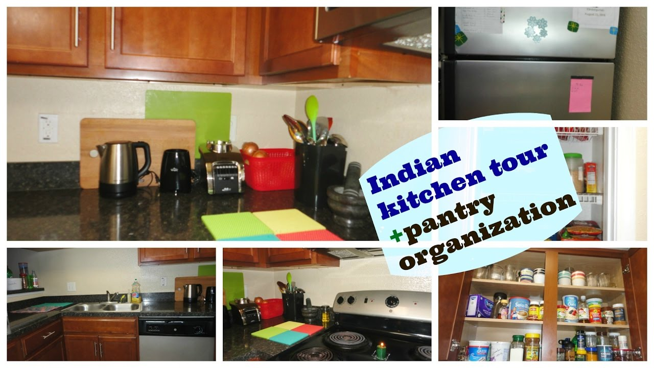Indian Kitchen Organization Kitchen Tour Pantry