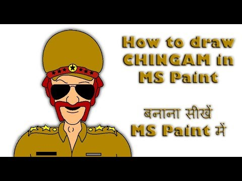 How To Draw Chingam Sir From Motu Patlu In The Easiest Way Ms