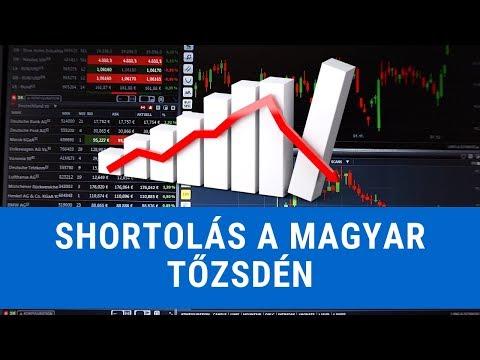 Shortolási Lehetőségek A Magyar Tőzsdén, BÉT-en