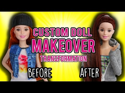 Barbie Custom Doll Makeover Transformation (#1: Courtney)