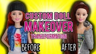 Barbie Custom Doll Makeover Transformation (#1: Courtney)