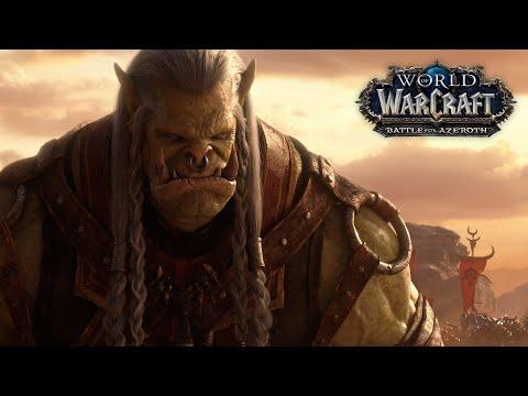 World of Warcraft - новый синематик для патча 8.2.5