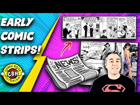 Ep. 5+6. (FullVideo) The Influence of Early Newspaper Comic Strips on Comic Books. by Alex Grand