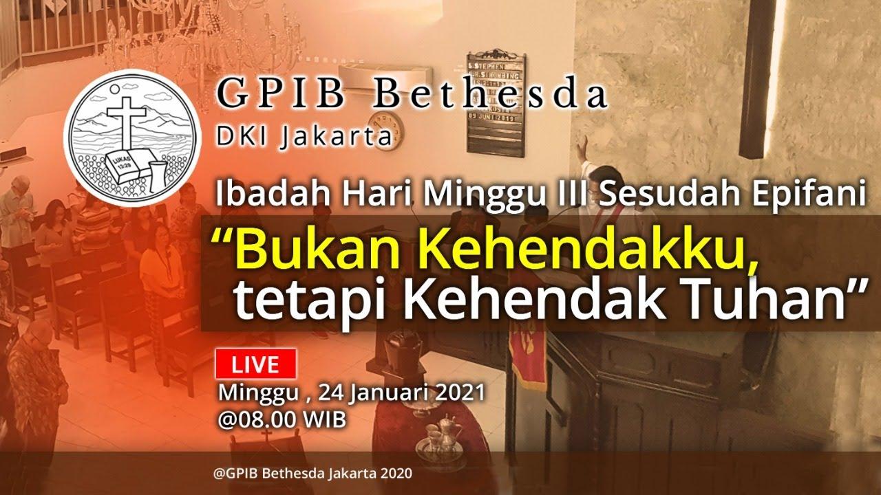 Ibadah Hari Minggu III Sesudah Epifani (24 Januari 2021)