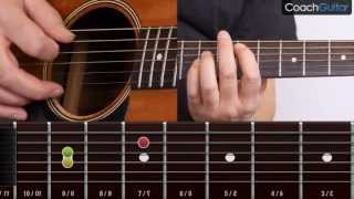 Beat It (Riff) - Michael Jackson - Learn how to play songs on acoustic guitar without tabs