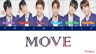 Produce x 101 sixc (6 crazy) - 움직여 (move) (prod. by zico) season 4 sorry for any mistake! and please don't reupload #produce_x_101 #move #thismyself
