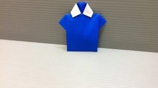 Daily Origami: 025 - Shirt