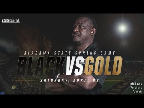 Alabama State Spring Football: Black vs Gold