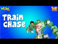 Vir The Robot Boy | Hindi Cartoon For Kids | The train chase | Animated Series| Wow Kidz