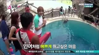 When Apink swimming :)) - 에이핑크 YouTube Videos