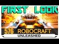Robocraft Unleashed - Freedom Engaged - FIRST LOOK