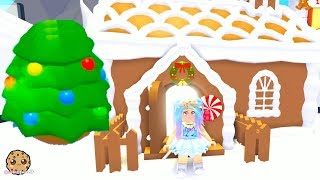 Hatching Surprise Pets Christmas Mystery Eggs + Gingerbread House Let's Play Roblox Adopt Me
