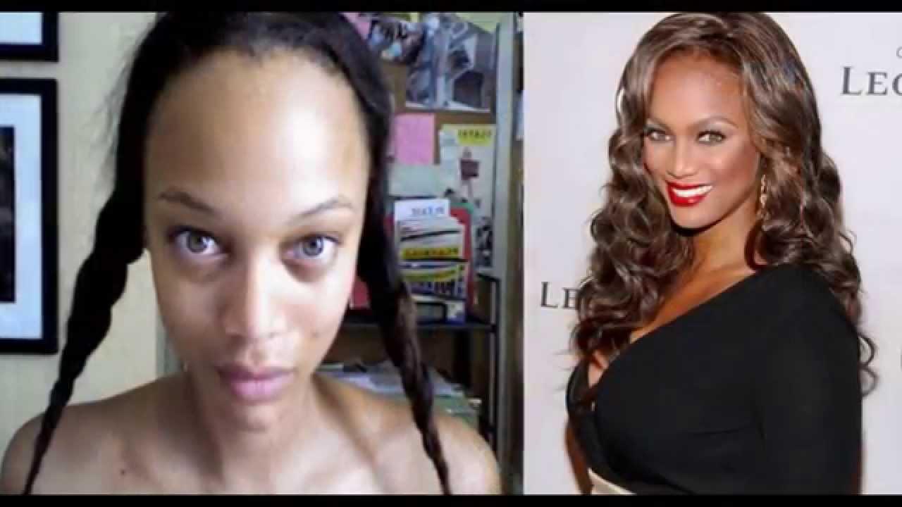 con y sin maquillaje de los famosos