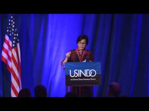 USINDO 2017 Gala Dinner April 19 - Policy Address by Minister of Finance Sri Mulyani