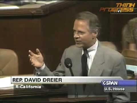 "Republican defend use of the ""Dreier Rule"""