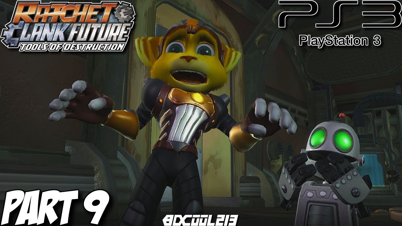 Ratchet Clank Future Tools Of Destruction Gameplay Walkthrough