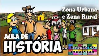 Aprendendo com Videoaulas: História: Zona Urbana e Zona Rural YouTube Videos