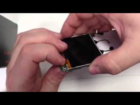 How to change an LCD screen on a Nokia E5-00