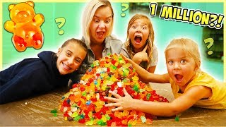 NO BUDGET AT THE CANDY STORE!! WE BUY 1 MILLION GUMMY BEARS!