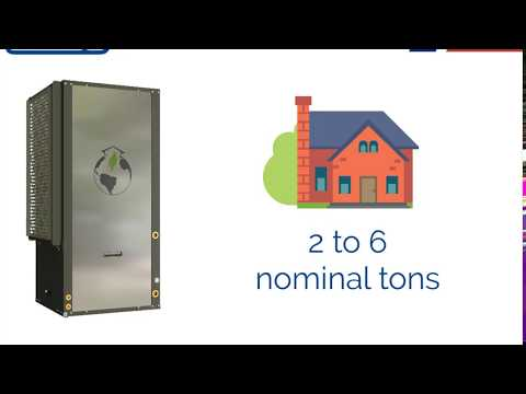 Nordic R Series Commercial Water Source Heat Pump