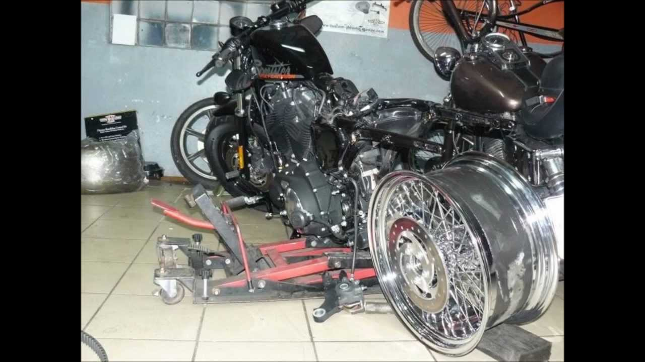 Harley Davidson Wide Tire 250 Sportster 48 Poland By Power Choppers