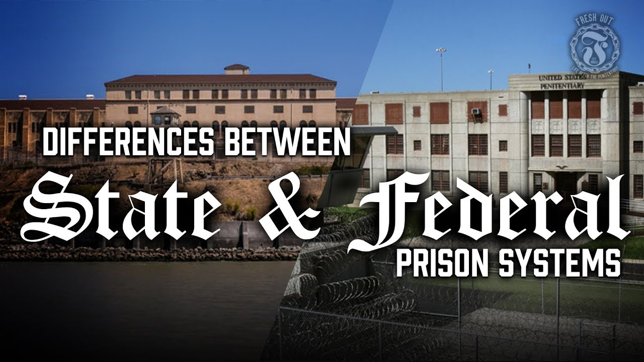 What Are the Main Differences Between State and Federal Corrections?