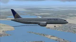 UAL032 | B787 | San Francisco Approach (w/Unicom)