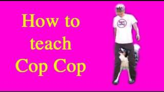Dog Tricks Tutorial: Cop Cop dog