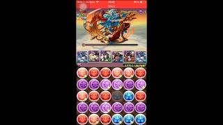 [Puzzle and Dragons] One-Shot Challenge (Level 10) - Awoken Haku PT