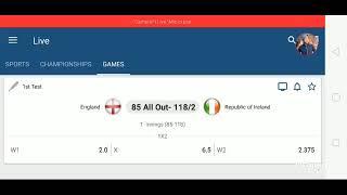 England vs Ireland live stream today