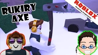 Roblox - Lumber Tycoon 2 - Getting Ruki Axe on Slot 2