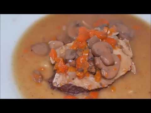 recette-cookeo:-longe-de-porc-façon-bourguignon