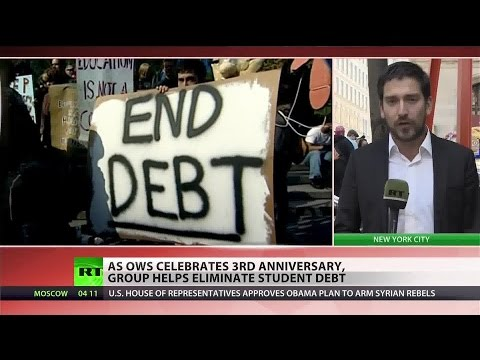 Occupy Wall Street forgives $4 million in student loans