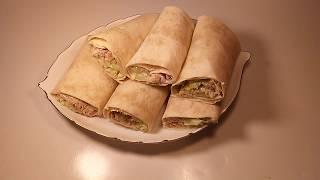 Tuna wrap recipe bangla