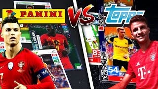 TOPPS vs PANINI SQUAD BUILDER BATTLE 😱🔥 Match Attax 2019 vs EURO 2020